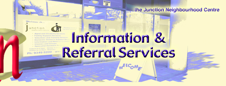 JNC Information Page Header